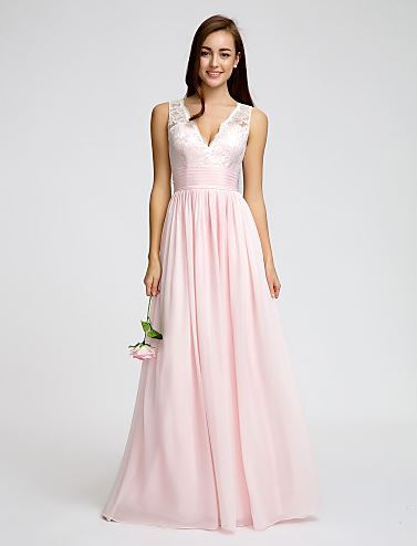 lan ting bride chiffon dress