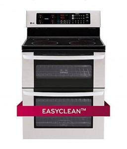LG 6.7 Cu.Ft. Double Oven Electric Range - LDE3031ST
