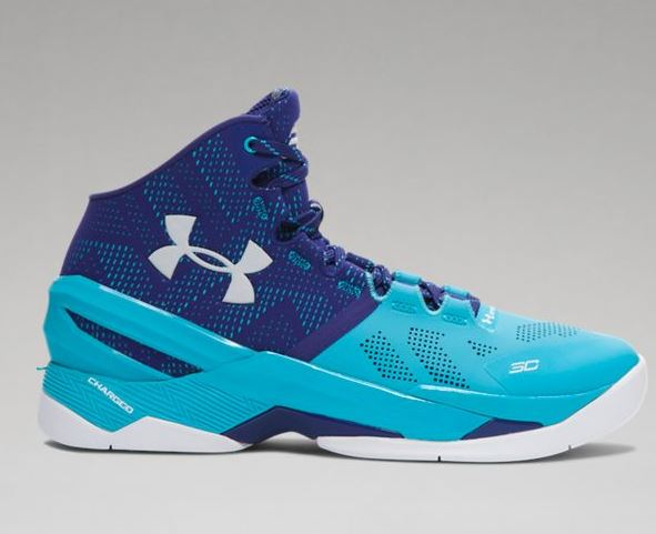 Men's UA Curry Two Basketball Shoes Blue