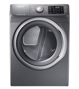 SAMSUNG 7.5 Cu.Ft. Platinum Front-Load Gas Dryer - DV42H5200GP