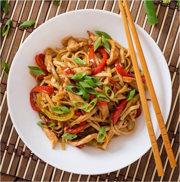 Turkey Singapore Noodles