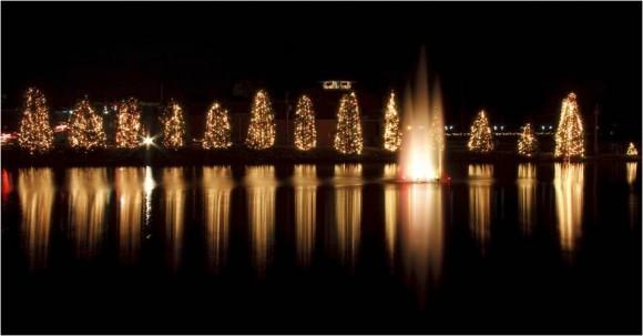 Christmas Celebrations in McAdenville, North Carolina