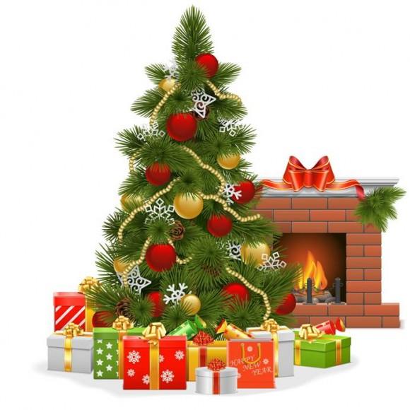 Put up a Christmas tree
