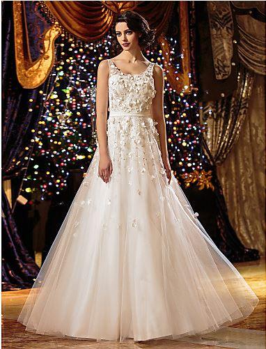 A line wedding Dress Lan TIN