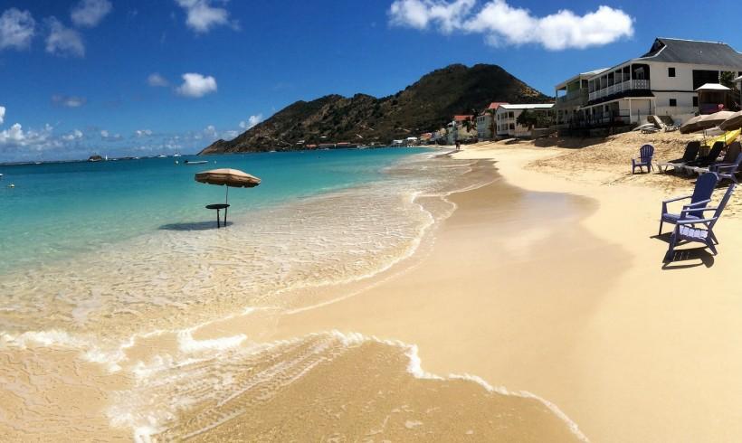 Saint Martin beach