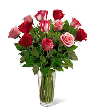 True Romance Dozen Roses