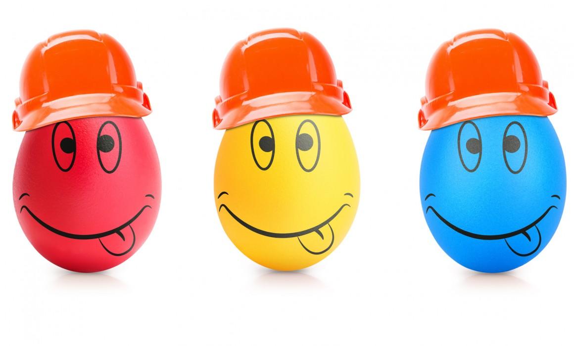 Easter egg emojis