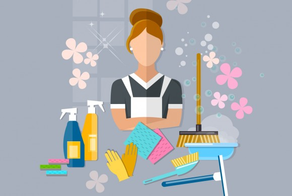 Spring cleaning checklist for exterior and interior