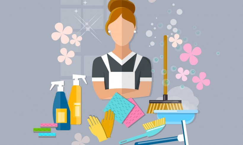 Spring Cleaning Checklist with Tricks and Tips