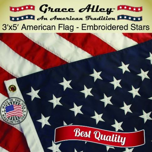 Grace Alley American Flag