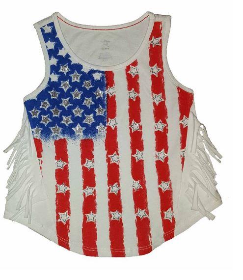 American flag girls dress