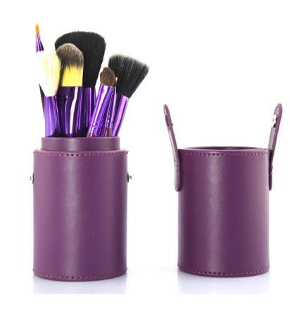 12 pc makeup brush set