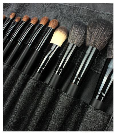 22 pcs professional makeup brush set