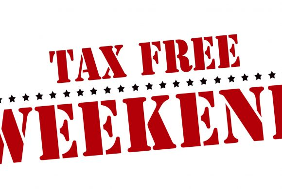 Tax free days for Back to school shopping