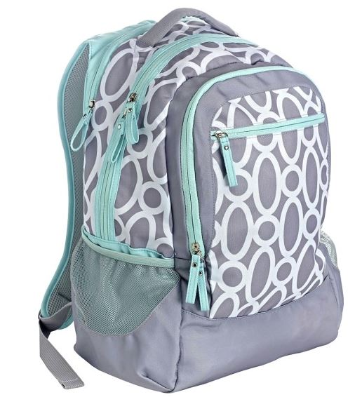 Studio C  One Hip Chick Backpack  Mint Gray