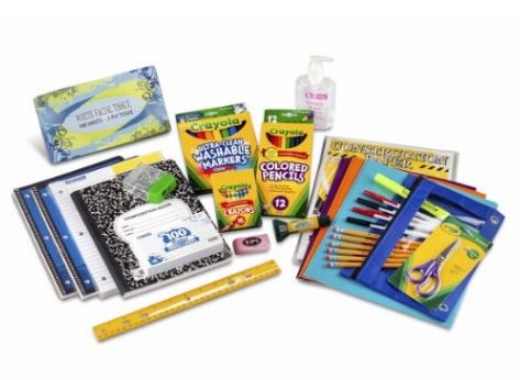 Third to fifth grade classroom supplies kit