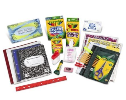 first and second grade classroom supplies list