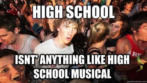 high school meme