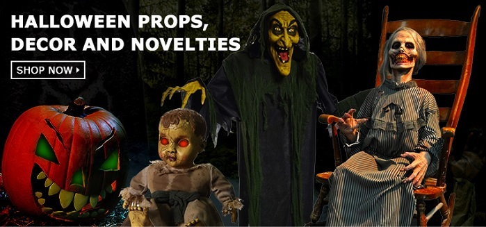 Costumes4Less Halloween Party Props, decor and novelties