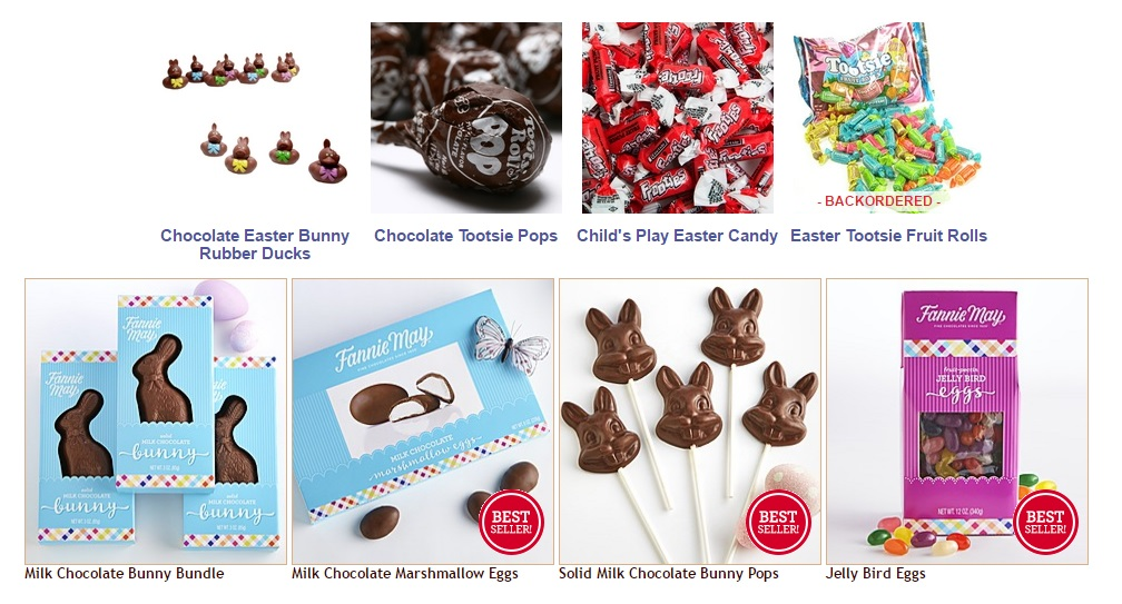 Favors for easter egg hunt and party