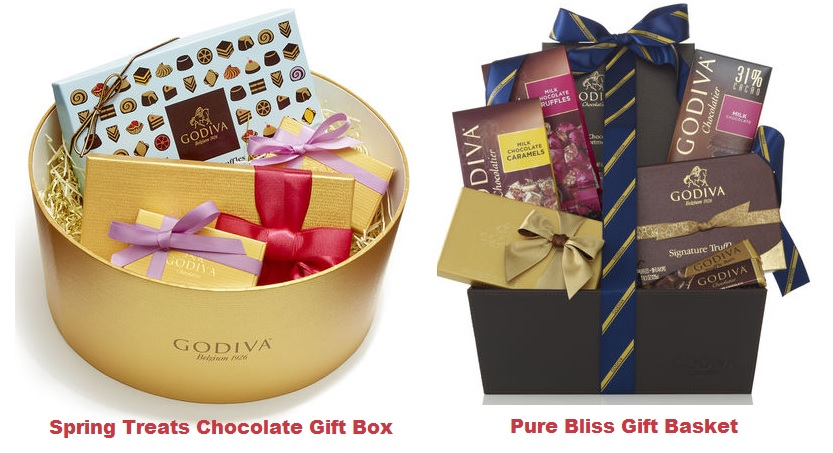 Godiva chcolates for wife husband