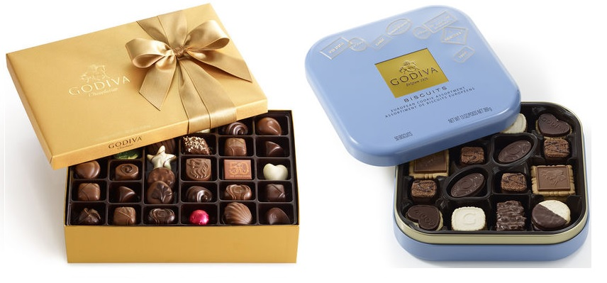 chcolate gifts for your parents godiva