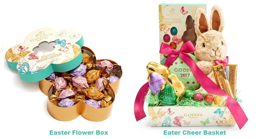 godiva easter chocolates for kids